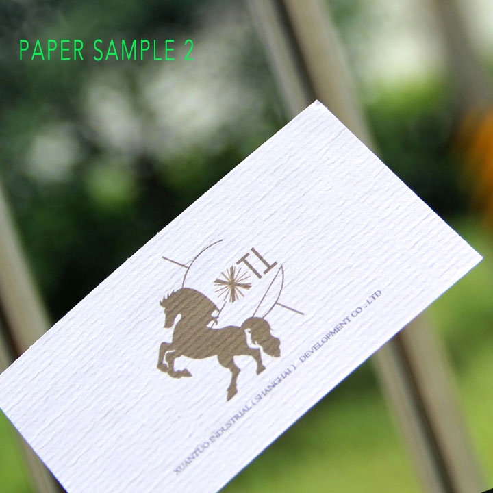 Il Trasporto Libero 200 Pz Speciale Texture Carta Biglietto Da Visita Stampa 280 300gsm Riciclata Visit Card In