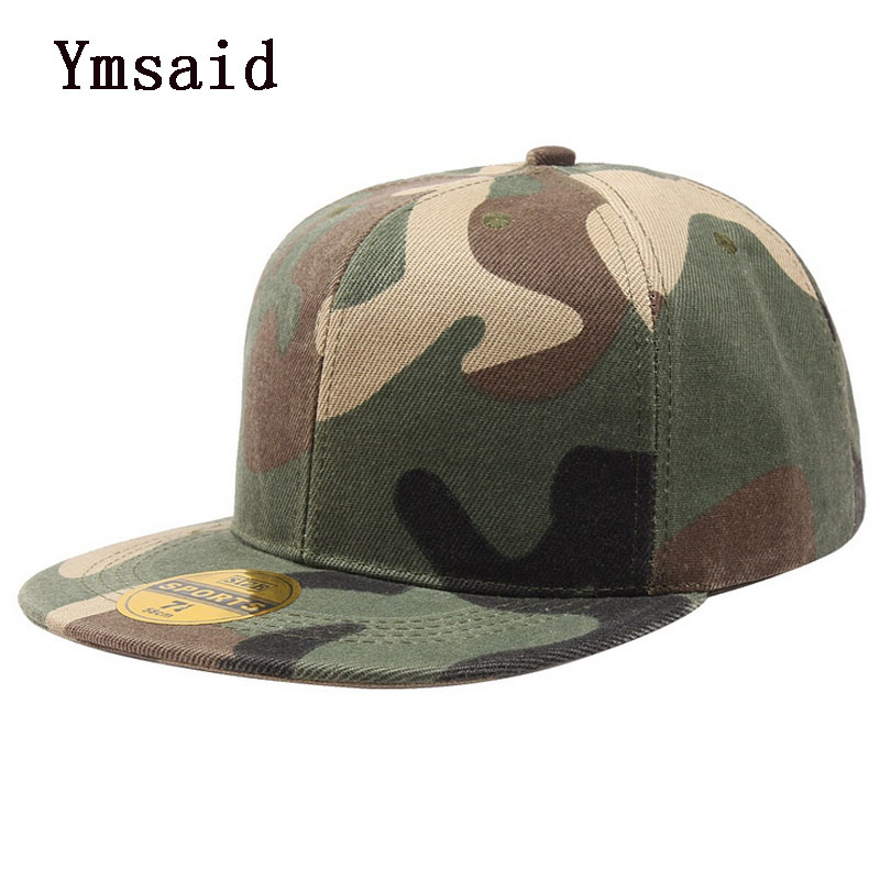 New Brand Camouflage Snapback Caps Fashion Baseball Cap Gorras Planas Hip Hop Hats Flat Brimmed Casquette Hat For Men Women шапка для мальчиков k hats snapback gorras planas mujer children baseball caps