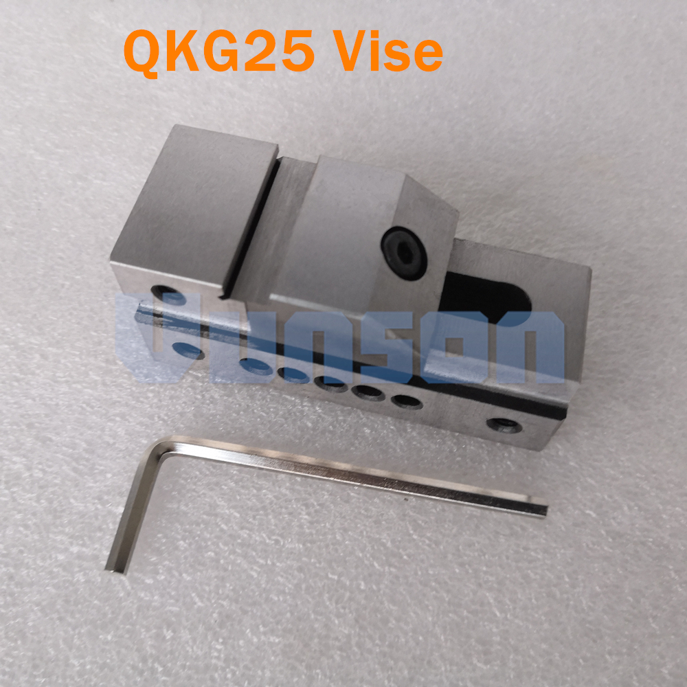 QKG25 flat nose Precision Bench Vise for Surface grinding machine milling machine edm machine High Precision