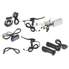 24 В/36 в 250 Вт/350 Вт контроллер электрического велосипеда с ЖК-панелью комплект бесщеточного контроллера двигателя контроллер электровелосипеда аксессуары для электрического велосипеда
