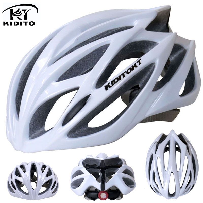 Kiditokt cycling helmet road mountain cycle helmet in mold bicycle helmet ultralight mtb bike helmet casco