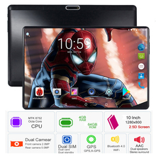 2019 Octa Core 10 Inch Tablet MTK8752 Android Tablet 6000mAh 4GB RAM 64GB ROM Dual SIM Bluetooth GPS Android 8.0 Tablet PC