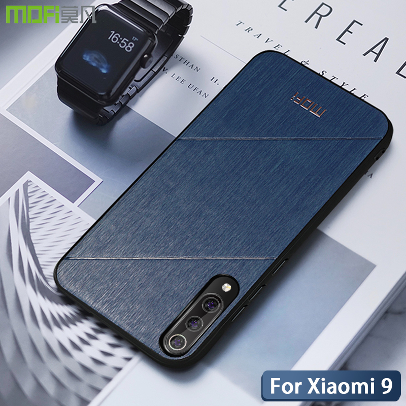 Mofi For Xiaomi Mi9 case Mi9 explore case cover Business style Soft edge fitted for mi 9 protective shell mi9 se case capas in Fitted Cases from Cellphones Telecommunications