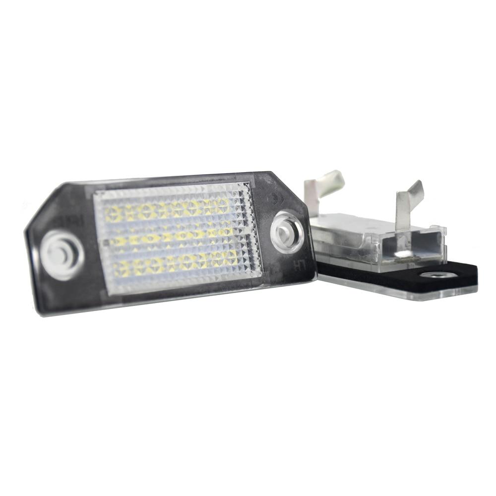 For ford focus mk1 mk2 c max lamp car led back license plate light