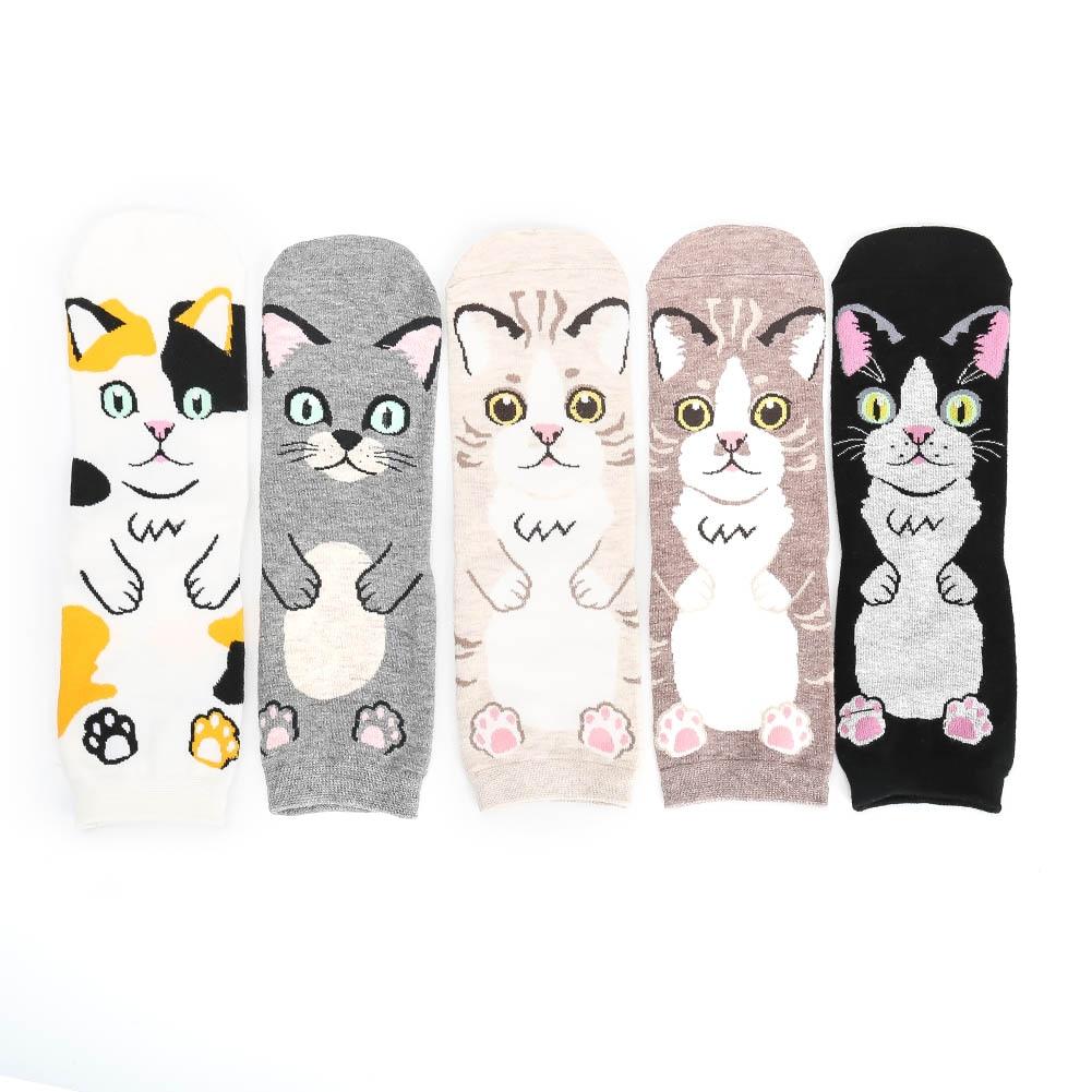 New Design Women Lovely Dogs   Socks   Cute Cartoon Sox South Korean Style Fashion Cotton Printing Tube   Socks   Floor Meias   Socks