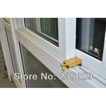 Free Shipping, Safe lock For Aluminum & Vinyl Sliding Window, Zinc Material, The safety lock is aim to protect your children free shipping safe lock for aluminum