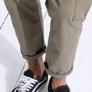 Image 5 - SIMWOOD 2020 Neue frühjahr Fracht Hosen Männer Ankle Länge Hüfte Hop Track Dünne Hosen Vintage Taschen Hoher Qualität Kleidung 180329