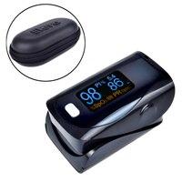 ELERA 10pcs Lot Digital Finger Pulse Oximeter WITH CASE Blood Oxygen A Finger SPO2 PR PI