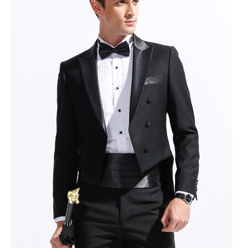 Pour Costumes Color Terno 2018 Made De Of Homme custom Tuxedo Blazer As Mode Picture Noir Pantalon Robe Mens Hommes Costume Mariage veste D'affaires Formelle AqnZaw7g