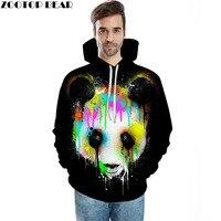 Inked Panda Printed Sweatshirts Men Women 3D Hoodies Novelty Tracksuits Fashion Plus 6xl Pullover Hooded Jackets