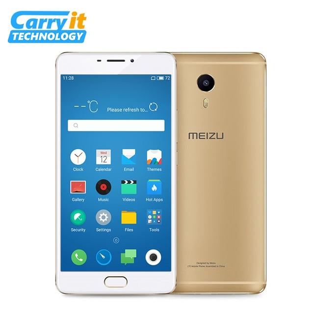 """Оригинальный Meizu M3 Макс 64 ГБ 3 ГБ Глобальный ROM OTA MTK Helio P10 Octa Core Android смартфон 4G LTE 6.0 """"1080P 13,0 MP сотовый телефон"""