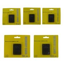 8 MB 16 MB 32 MB 64 MB 128 MB Cartão De Memória Para Playstation 2 Para PS 2 Jogo Sistema