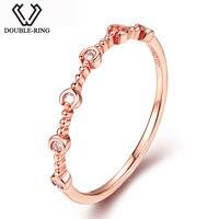 алмазная MZH 18K позолоченное Алмазное Свадебное кольцо женское Свадебные 18K позолоченные ювелирные изделия сертифицированное SI1 класс натур
