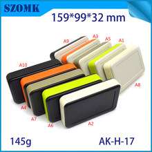 1 piece, 159*99*32mm hot selling plastic enclosures for electronics box handheld plastic case abs plastic display switch housing