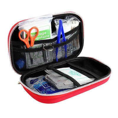 Outdoor First Aid kit Mini First Aid kit bag Small Medical box Emergency Survival kit Size 22x13.5x7cm