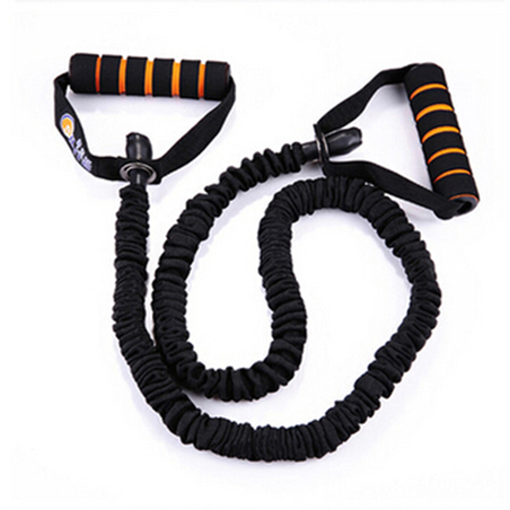 exercise fitness cable item strengthen tube sports stretch muscle yoga rope latex workout in color from resistance elastic bands
