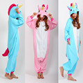 Cartoon Romper Pony Unicorn Jumpsuits Costumes Adult Onesie Women Men's Pajamas Halloween Christmas Party Costumes