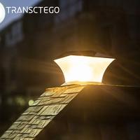 Solar Lichter Led Post Kappe Zaun Helle Außen Beleuchtung Motion Wand Lampe Für Garten Villa Dekoration Laterne Garten Solar Lichter-in Solarlampen aus Licht & Beleuchtung bei
