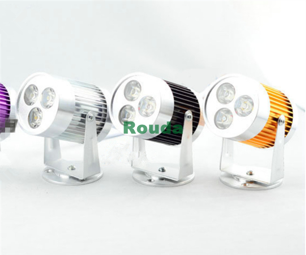 led light wall 3w wall spot light 110-120lm/w nice