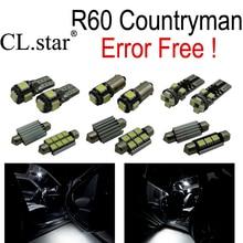 13pc X Error free for Mini Cooper S Base Countryman R60 LED Lamp Interior Light Kit Package (2011-2013)