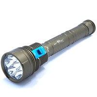 새로운 디자인 dx7 플러스 방수 10000 루멘 7 x XM-L2 led 다이빙 손전등 7l2 수 중 200 m 깊이 밝은 led 빛 램프