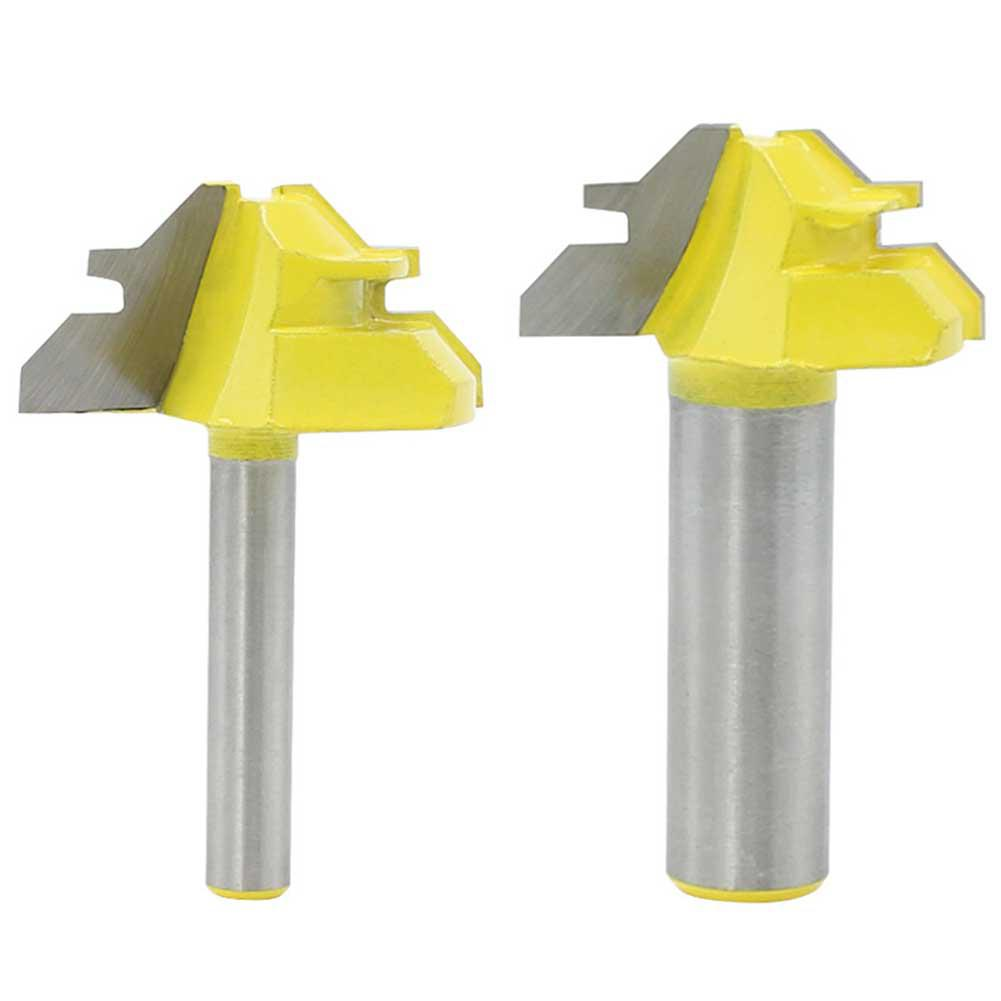 Shank 45 Degree Lock Miter Router Bit Stock Joint Router ...