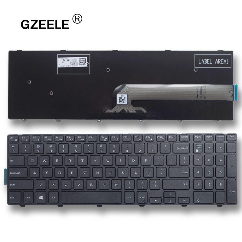 GZEELE NEW Laptop Keyboard FOR Dell Inspiron 15-3000 15-5000 15-3541 15-3542 3543 5542 3550 5545 5547 15-5547 15-5000 15-5545 US