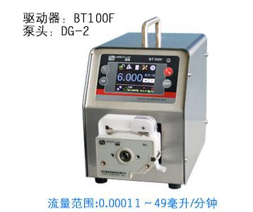 BT100F DG10-1  Intelligent Dispensing Dosing Filling Peristaltic Pump industry lab Tubing Pumps Precise  0.00016-26 ml/min