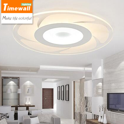 Ultra thin zirkular wohnzimmer lampe led deckenleuchte modernen ...