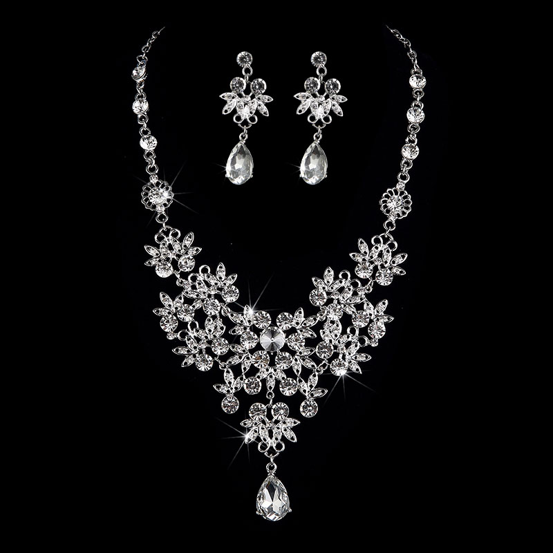 Women Wedding Jewelry Sets Vintage Bridal Jewelry Sets 2017 Fashion
