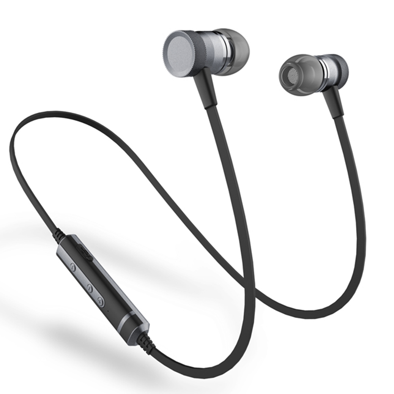 sound intone h6 bluetooth earphone with mic sport sweatproof wireless earphones bass bluetooth. Black Bedroom Furniture Sets. Home Design Ideas