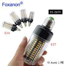 Светодиодная лампа кукуруза высокой яркости 20 Вт 5736 SMD светильник E14 85 265 в 15 Вт 10 Вт 5 Вт Светодиодная лампа без мерцания долговечная светодиодная лампа светильник щения