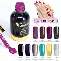 10 teile/los VENALISA Tränken weg vom UV LED Nagel Gel Polish 12ml Gel Lack farbe Nail art Salon Hohe Qualität starry Gel Polnischen kits