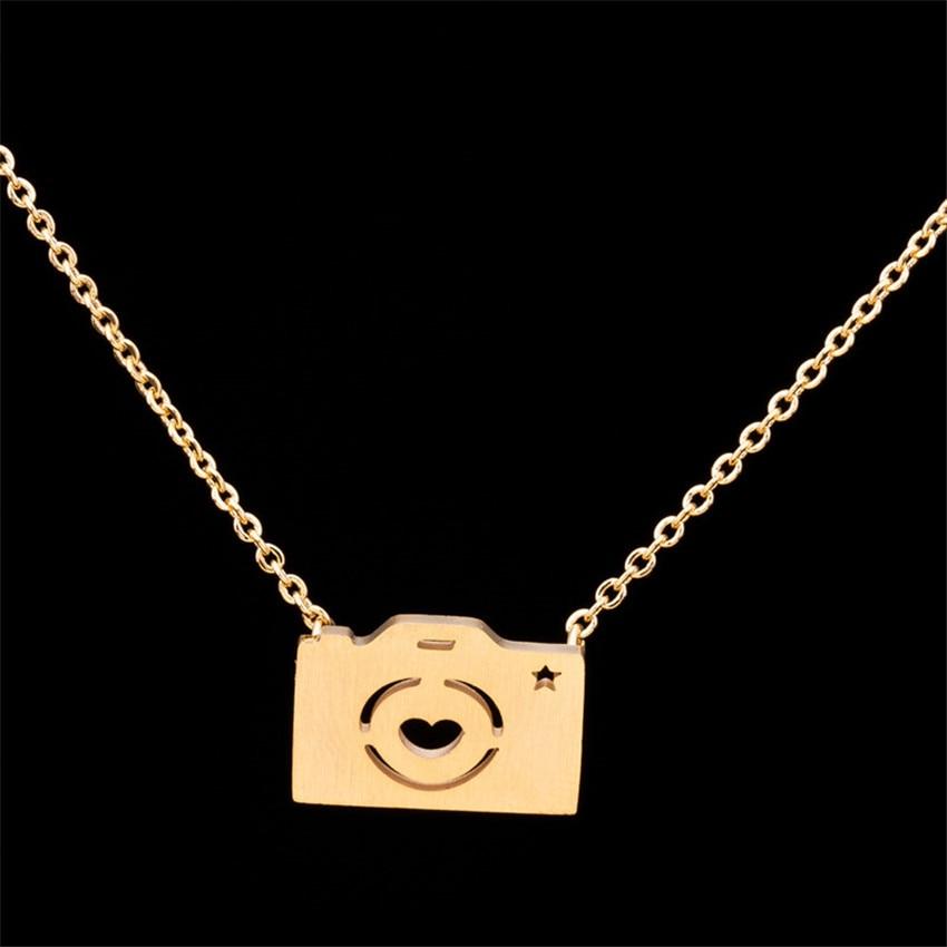 Cadena de acero inoxidable Bijoux Femme Moon & Star Heart Puzzle - Bisutería - foto 6