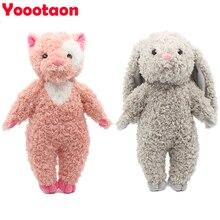 kawaii soft kids toys for children girls dolls bunny rabbit /panda/bear stuffed & plush animals baby toys hobbies classic toy