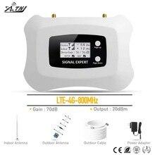 4G LTE 800MHz مكرر إشارة موبايل مكرر إشارة الهاتف RU الخلوية مكبر للصوت MTS الخط المباشر فودافون 4G مكبر صوت أحادي عدة