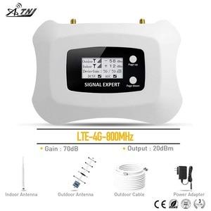 Image 1 - Repetidor de sinal de celular 4g lte, 800mhz, repetidor de sinal de telefone móvel ru kit de amplificador,