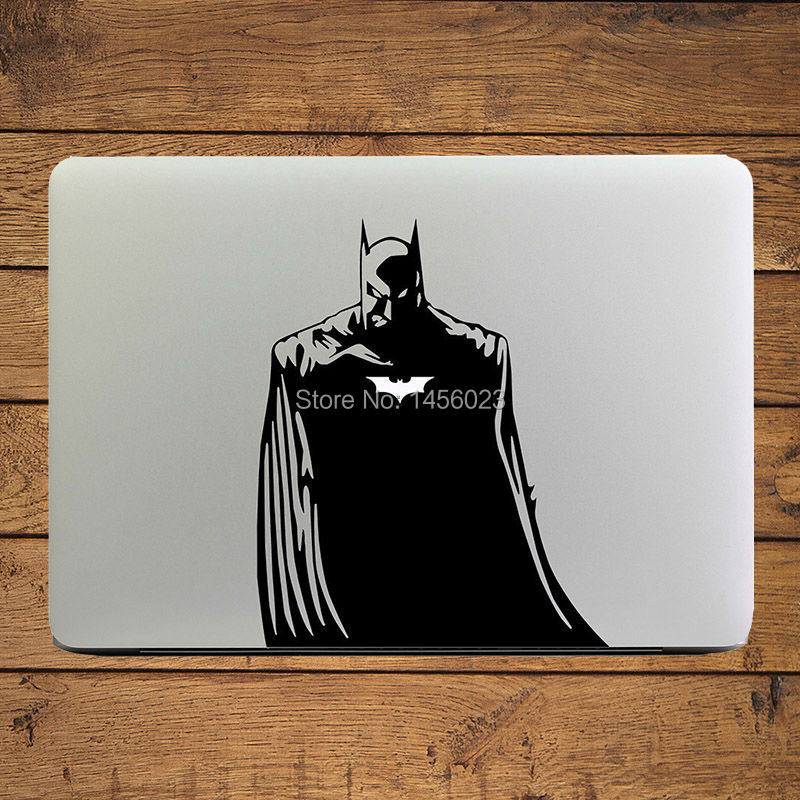 Aliexpress com buy batman glowing logo laptop decal sticker for apple macbook air pro retina 11 12 13 15 mac book surface mi cover skin sticker from
