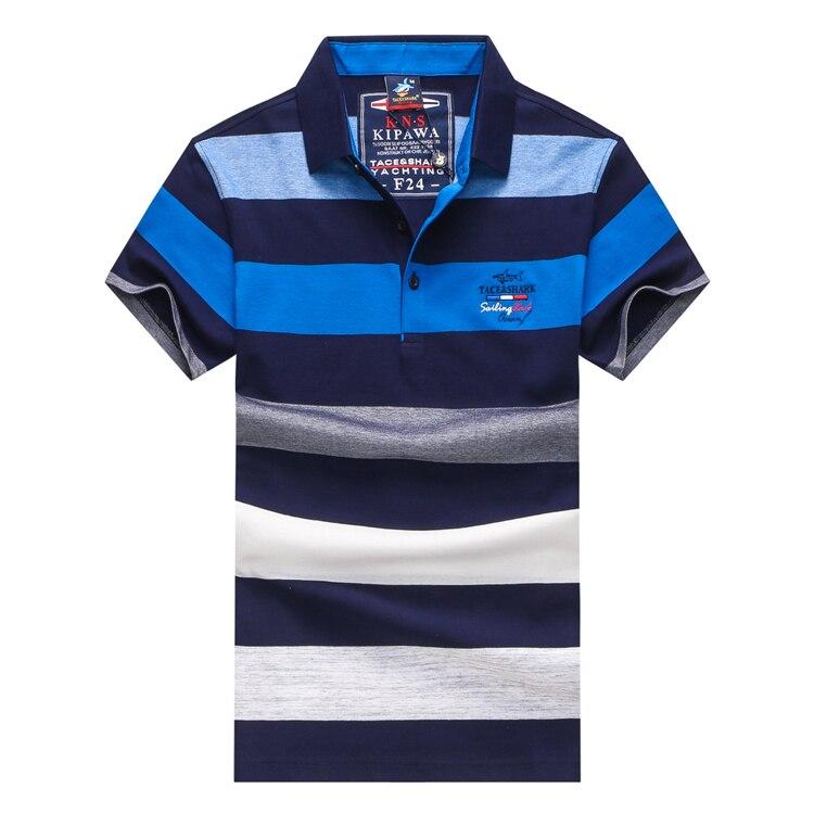 shirt D'été T 3xl Couleur Tace Blue Haute Nouvelle Géométrie Livraison Confort Rayé amp; Qualité Arrivée M Motif red 2018 Shark Hommes Commerce UxU8twq