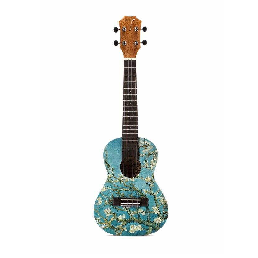 Ukulélé guitare TOM manufacture ukulélé acajou 23 pouces