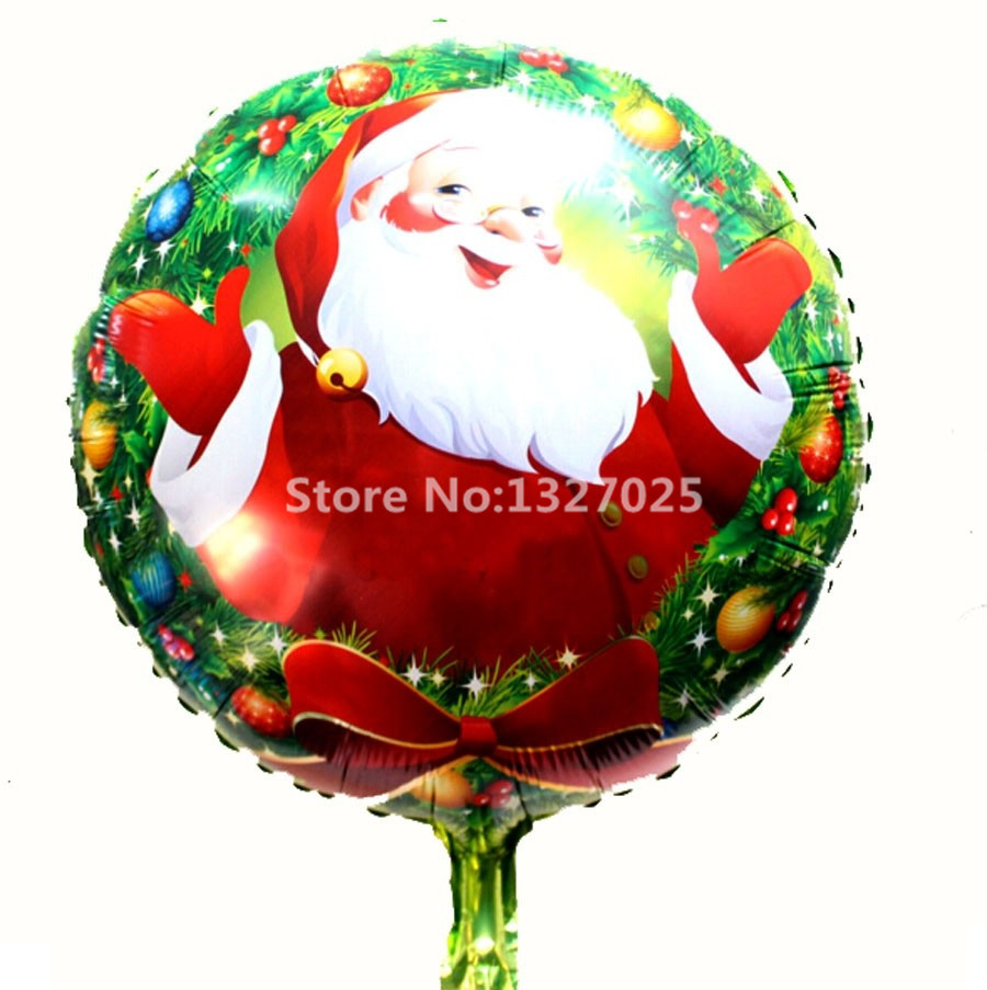 Buy new santa claus christmas balloons for Christmas decoration suppliers