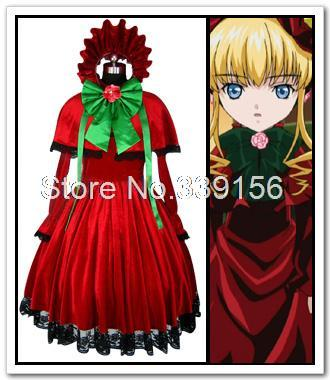 Rozen Maiden care of the household red custom-made cosplay costume anime cosplay dress costumes