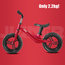 12 Push Balance Bike Ultralight Kids Riding Bicycle For 1- 4 Years Baby Walker Scooter No-pedal Learn To Ride Pre Bike Eva Tire 12inch baby balance bike with hand brake high carbon steel frame and eva solid wheel kids bike 85 100cm adjust balance bike