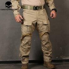 EMERSONGEAR G3 חדש Combat מכנסיים ציד צבאי צבא קרבי טקטי מכנסיים עם מגיני ברכיים אמרסון EM9351
