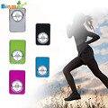 Binmer qualidade superior fasion esporte usb mp3 music media player apoio às micro sd tf cartão octx7