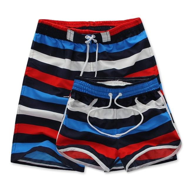 Los amantes de los hombres y womenhigh calidad Hombres pantalones cortos Bermudas Masculina trajes de baño Playa corta para hombre boardshorts Casual masculina