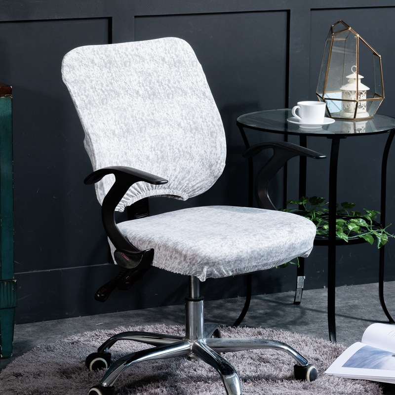 Chair Cover Amiable Elasticity Office Computer Chair Cover Side Arm Chair Cover Recouvre Chaise Stretch Rotating Lift Chair Cover Without Chair