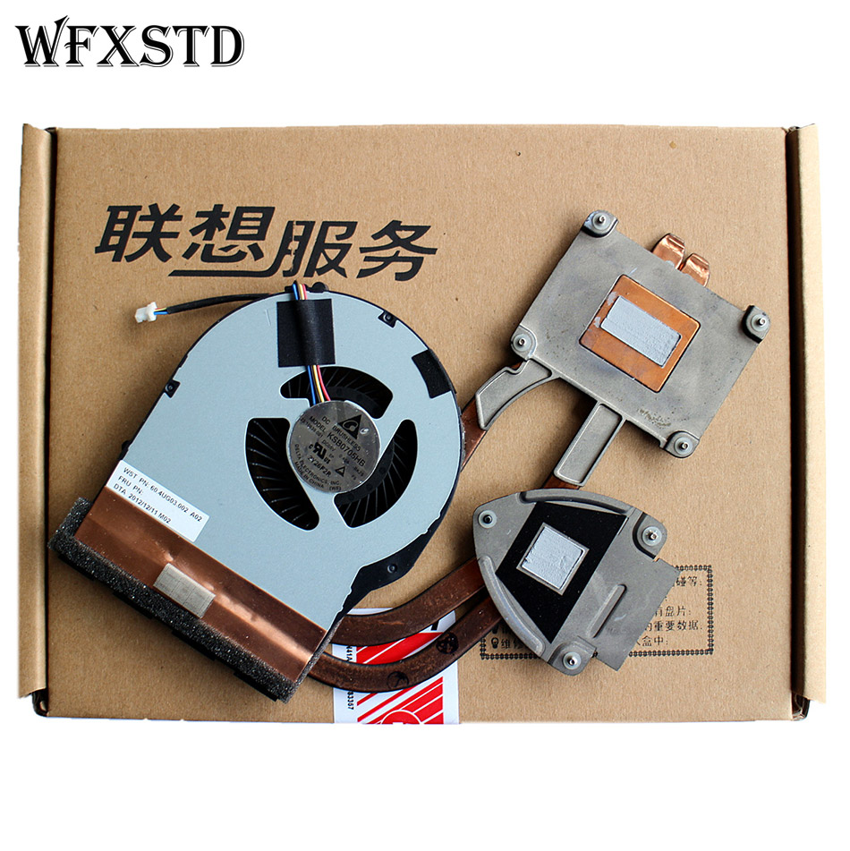 New Original CPU Cooling Fan For Lenovo LENOVO V480S V480SA Cooler Radiator Independent Video card cooing fan Heatsink wholesale 55mm aluminum cooling fan heatsink cooler for pc computer cpu vga video card bronze em88