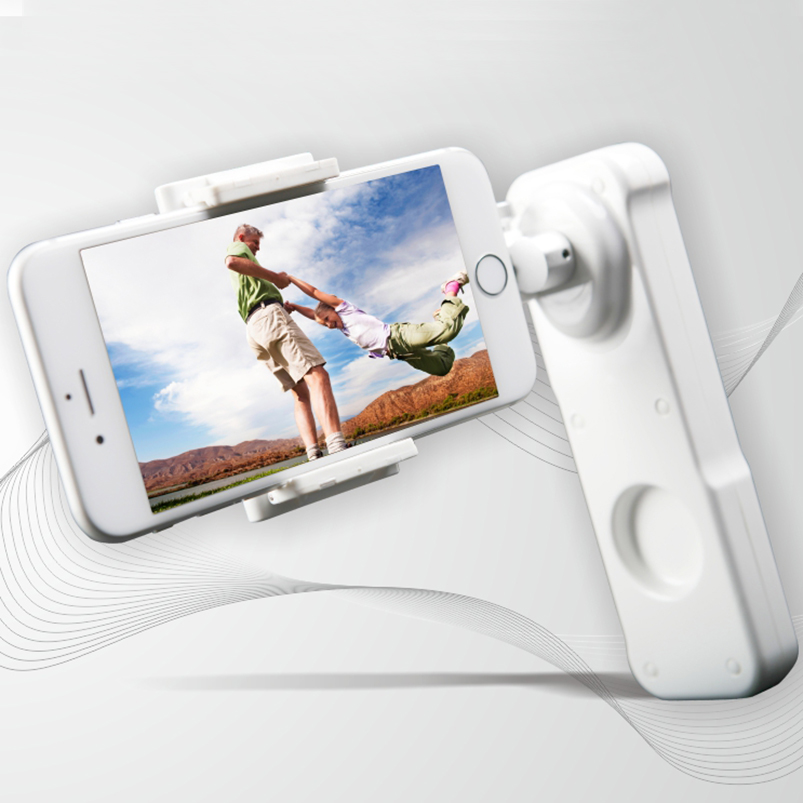 Q19360 X-Cam Sight 2 Self Selfie Sticks Handheld Gimbal 2-axle Stabilizer Brushless Bluetooth Control for Smartphone x cam sight2 2 axis smartphone handheld stabilizer mobile phone brushless gimbal with bluetooth for iphone samsung xiaomi nexus