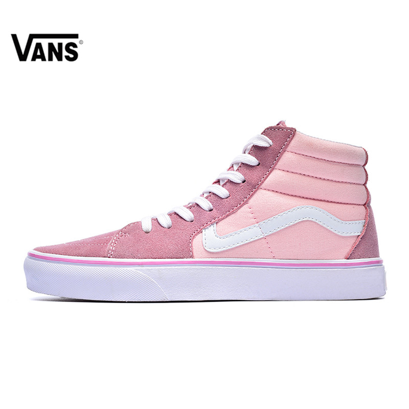 VANS SK8 HI High-top Classics Women s Skateboarding Shoes ... 6a18ce8c3